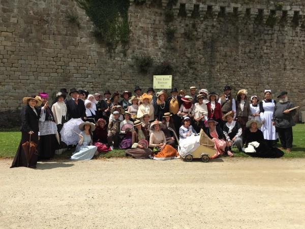 Delegación turolense de la fiesta histórica