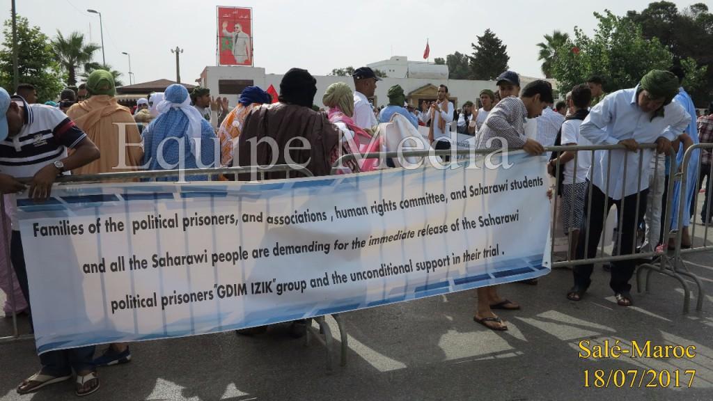 Marruecos condena a los presos políticos saharauis de Gdeim Izik a penas desde perpetua a los dos años de cárcel