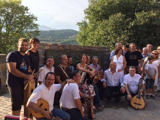 Broto: «La Ronda de Boltaña ha contribuido a hacer país con su música, hacer Sobrarbe y hacer Aragón»