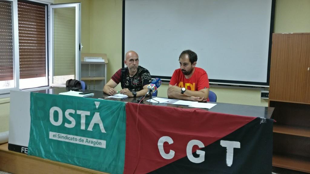 """CGT y OSTA en Sarga denuncian """"precariedad laboral"""" y """"falta de voluntad política"""" para solucionarla"""