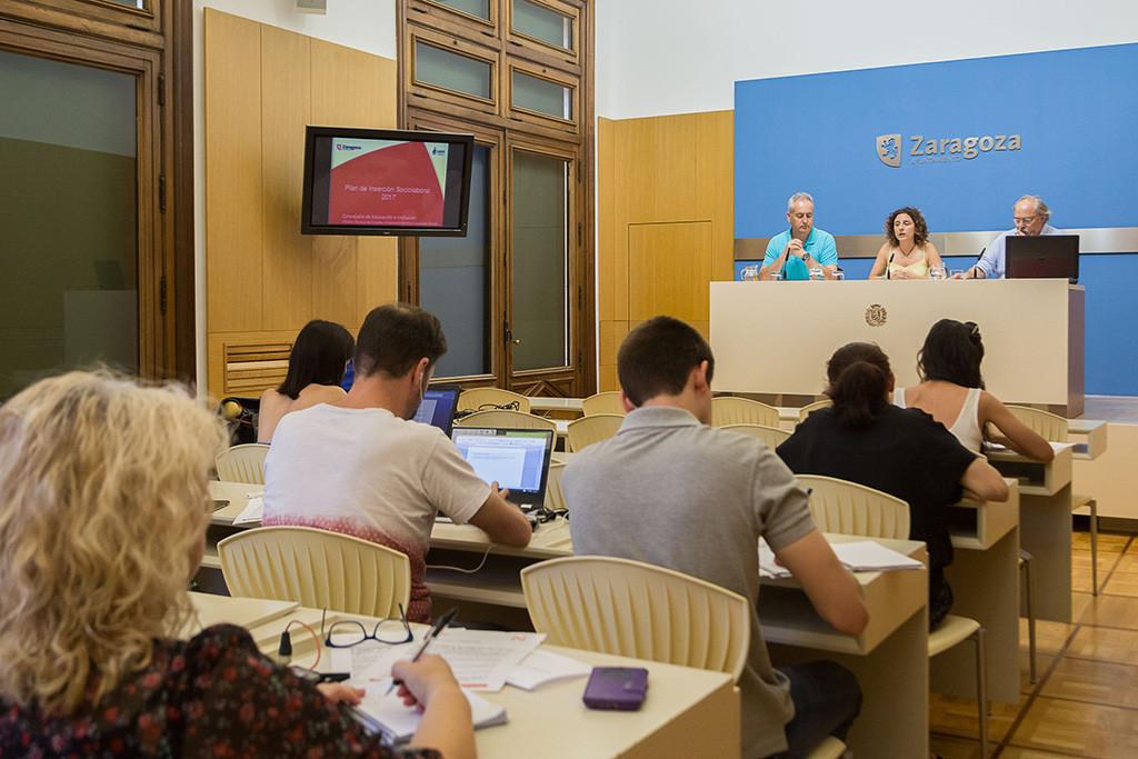 Ayuntamiento de Zaragoza y las empresas de inserción renuevan el Plan de Inclusión Sociolaboral, que generó 68 contrataciones en 2016