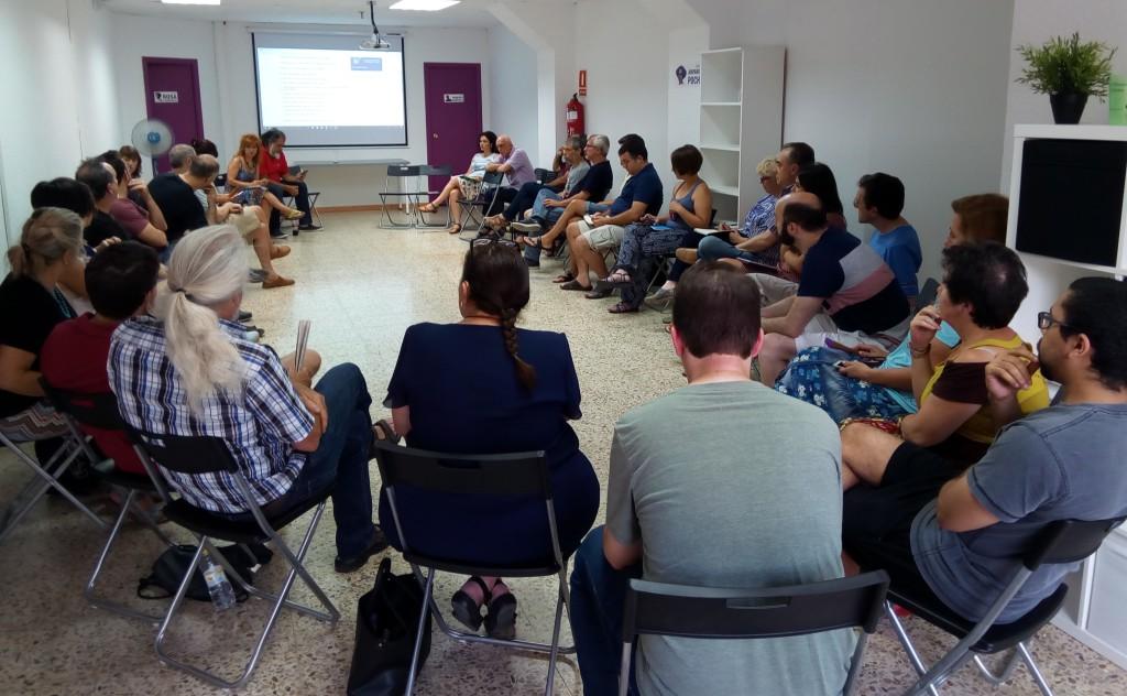 Podemos Aragón debate las propuestas de documentos de cara a la Asamblea de septiembre