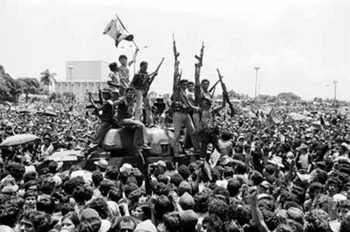 Homenajes en Zaragoza en el 38 Aniversario de la Revolución Popular Sandinista