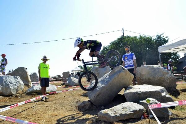 Poldo Sillué firma una buena actuación en la tercera prueba de la Copa Tarragona de Bike Trial 2017