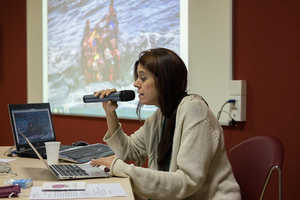 """La conferencia """"Siria y las oportunidades perdidas"""" de Mónica G. Prieto finaliza el ciclo Terapia Colectiva"""