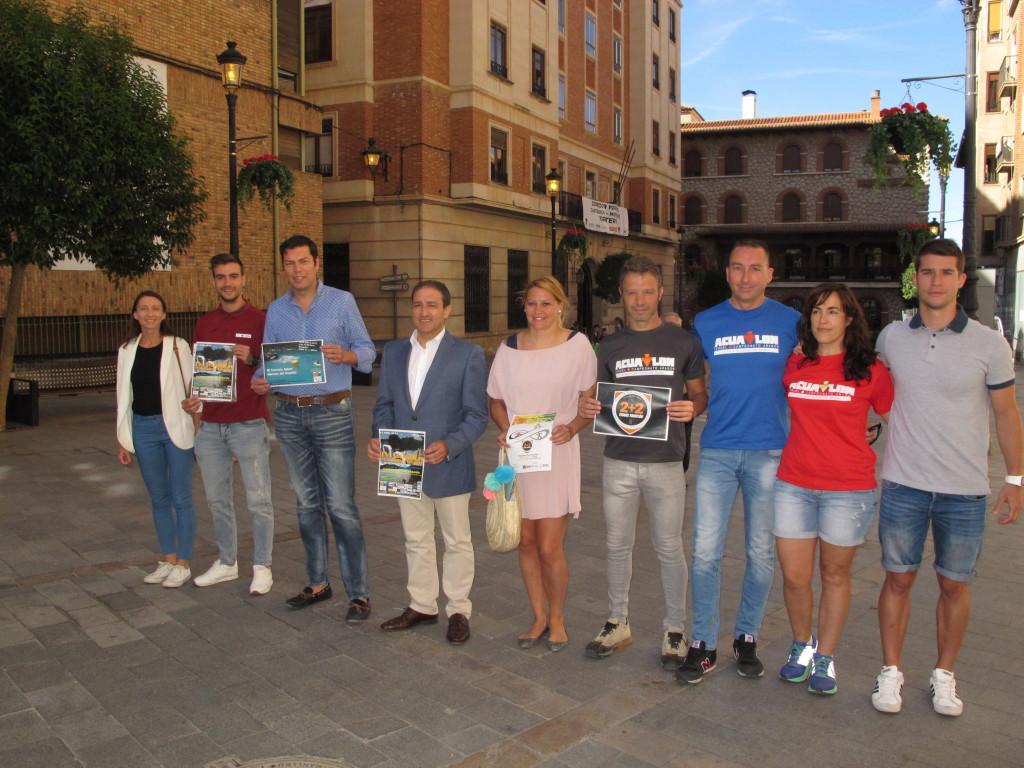 Teruel acoge el I Triatlón de relevos mixto «Teruel Ciudad del Amor»