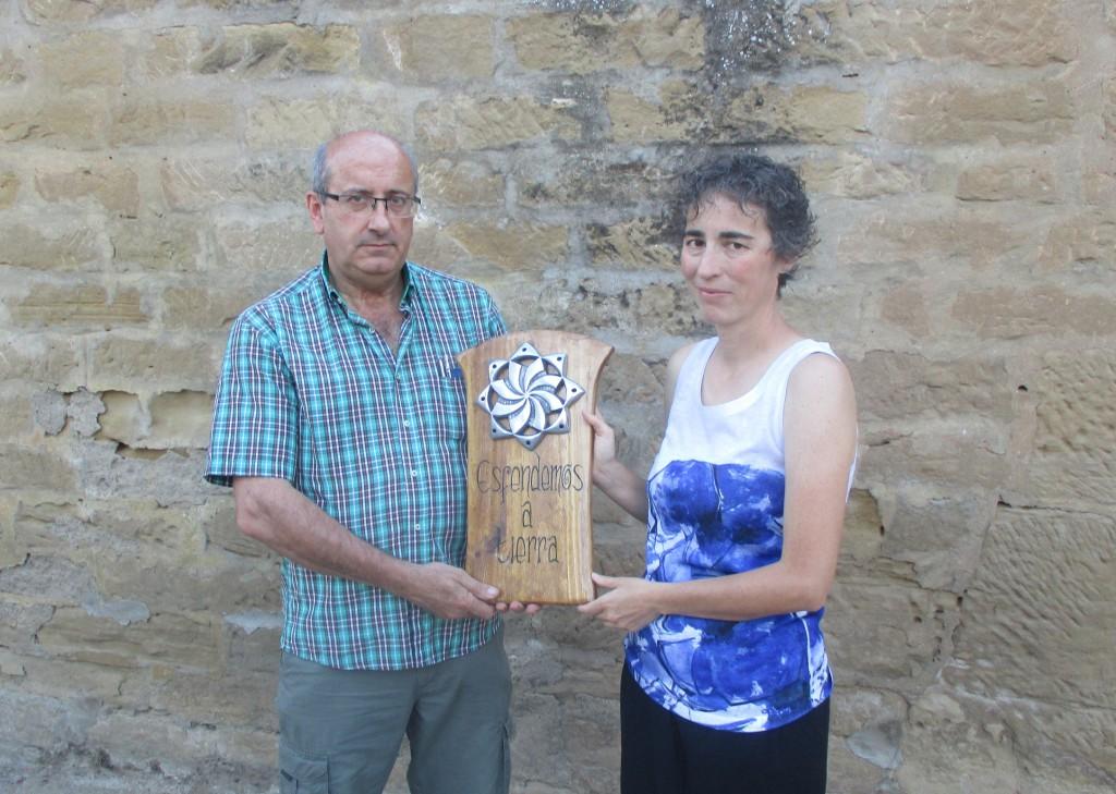 Premio Esfendemos A Tierra a la Coordinadora Biscarrués Mallos de Riglos