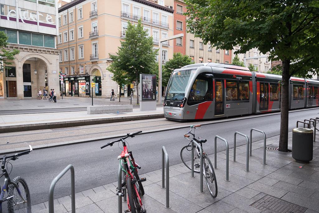 El Ayuntamiento de Zaragoza aprueba vincular la segunda línea del tranvía al nuevo Plan de Movilidad Urbana Sostenible