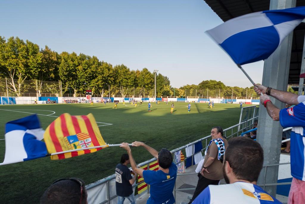 El Campo Municipal de Fútbol de L'Almozara-El Carmen estrena césped