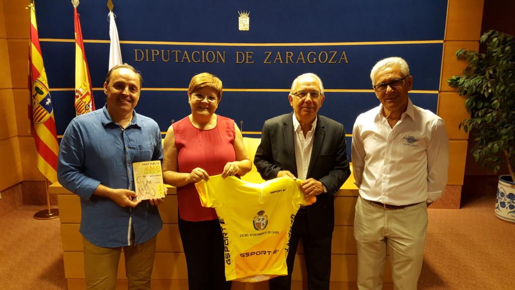 Doscientos ciclistas disputarán a partir de este viernes la XXXIV edición de la Vuelta al Baixo Aragón