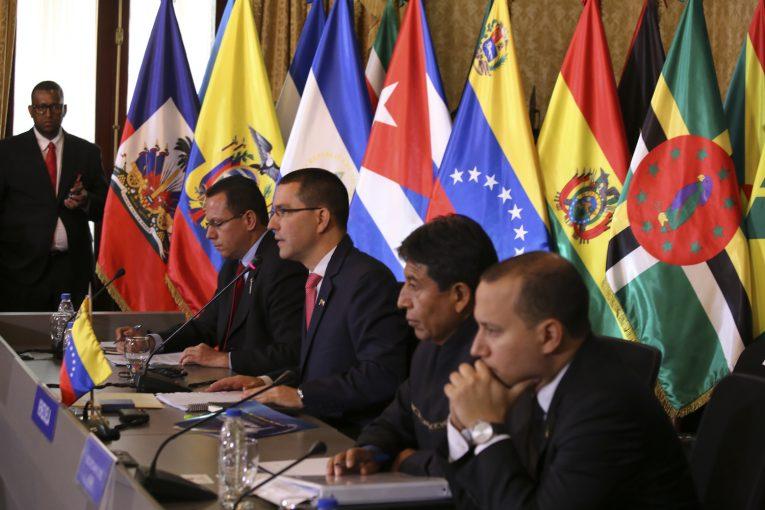 El ALBA-TCP denuncia las sanciones de EEUU a Venezuela