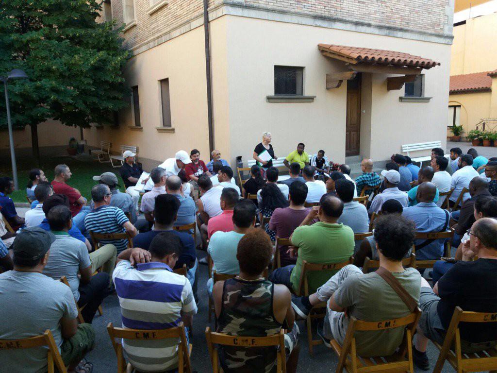 Convocan una concentración en solidaridad con los y las trabajadoras represaliadas de la cooperativa TAIC en Zaragoza y Zuera