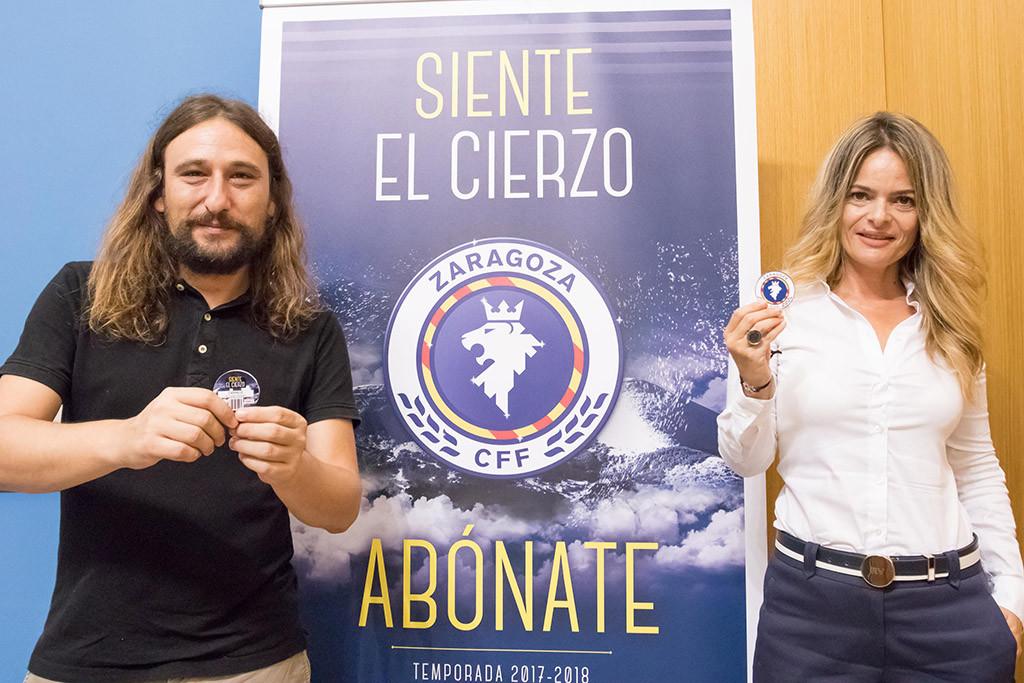 Presentada la nueva campaña de abonos del Zaragoza Club de Fútbol Femenino