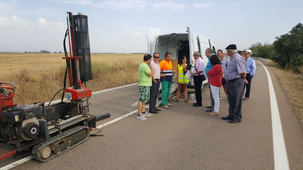 La DPZ estudia alternativas para reabrir el acceso a Boquinyeni por Luceni