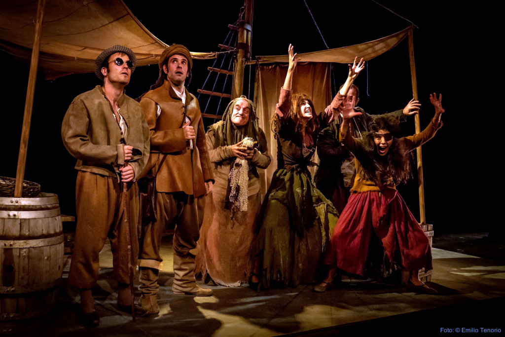 «La comedia de los enredos», de Shakespeare,  este lunes en el castillo de Mora de Rubielos