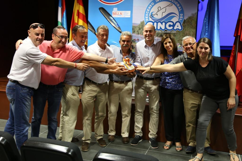 Los Descensos Internacionales del Sella y del Cinca ratifican su hermanamiento horas antes de la salida de la vigésima edición