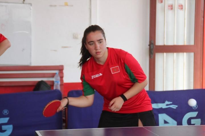 Diana Noha Arangay, jugadora del Publimax CAI Santiago, convocada con la selección de Marruecos