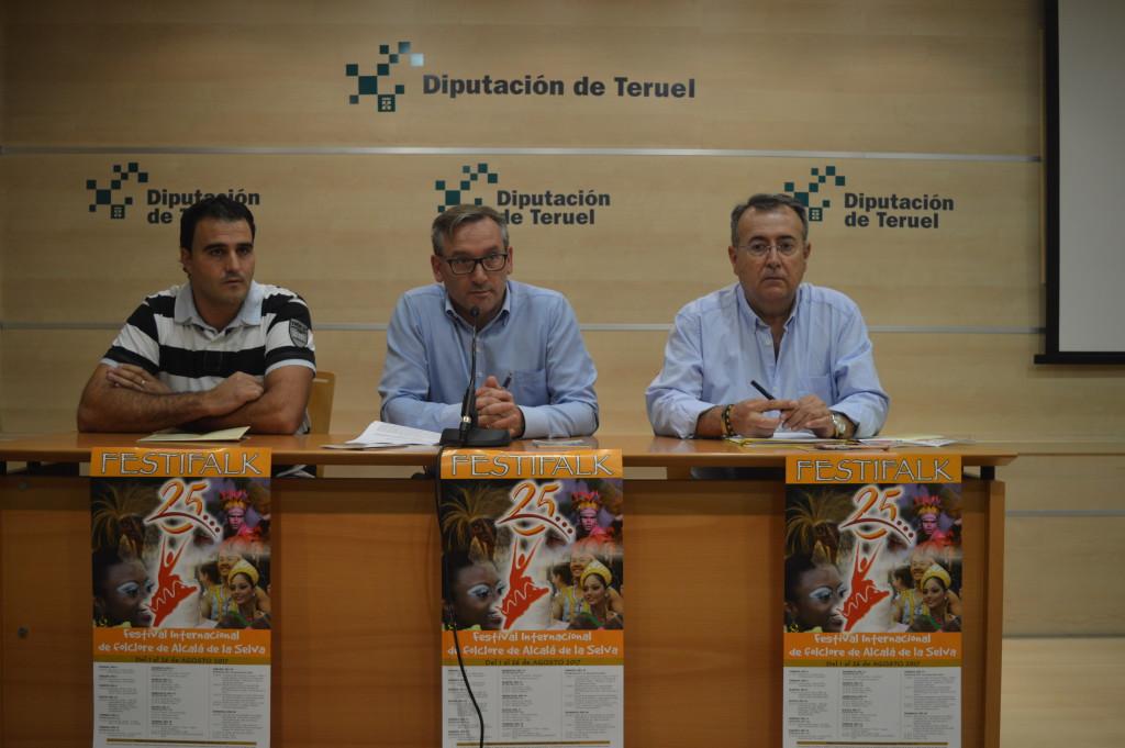 El Festival Internacional de Folklore de Alcalá de la Selva celebra este año su XXV Edición
