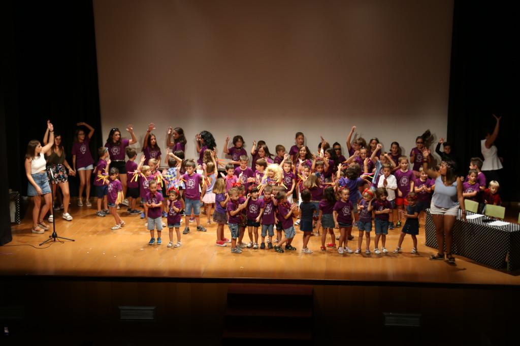 Récord de participación en el Festival multicultural de la Ludoteca de Verano de Mequinensa