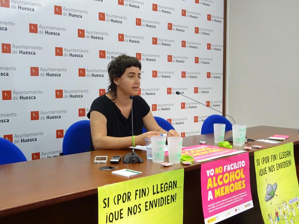 El Ayuntamiento de Uesca lanza una nueva campaña de prevención y sensibilización para las Fiestas de San Lorenzo 2017