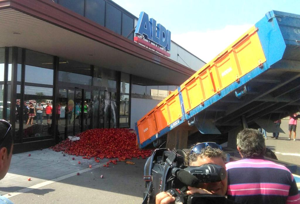 El sector aragonés de la fruta dulce al límite