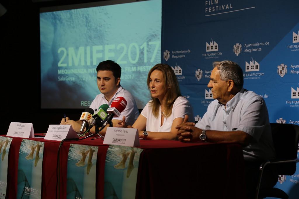 Jesús Marco, Carmen Gutiérrez y Pai Alcolea participarán en la clausura del II Festival Internacional de Cine de Mequinensa