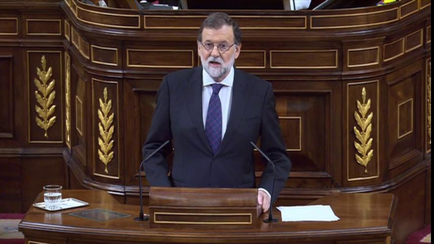 El Congreso español asiste a un debate estéril sobre la corrupción del Partido Popular