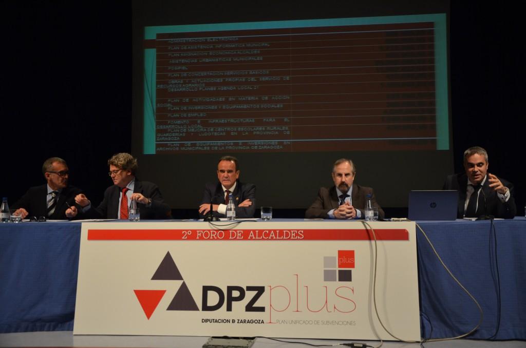 La DPZ adelanta la convocatoria del PLUS para empezar a transferir fondos a principios del 2018