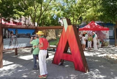 Aragón se promociona como destino turístico durante las fiestas de San Lorenzo de Uesca