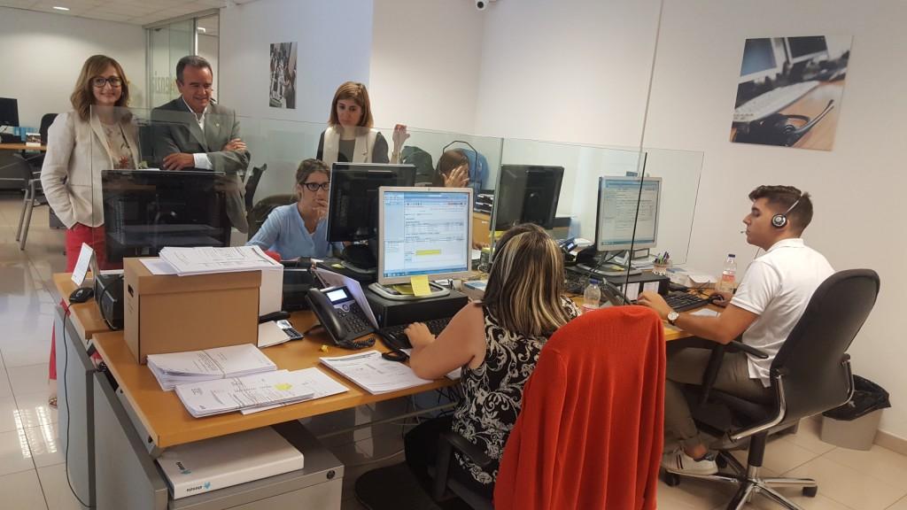 La DPZ y el IASS renuevan el convenio de teleasistencia que gestiona Atenzia