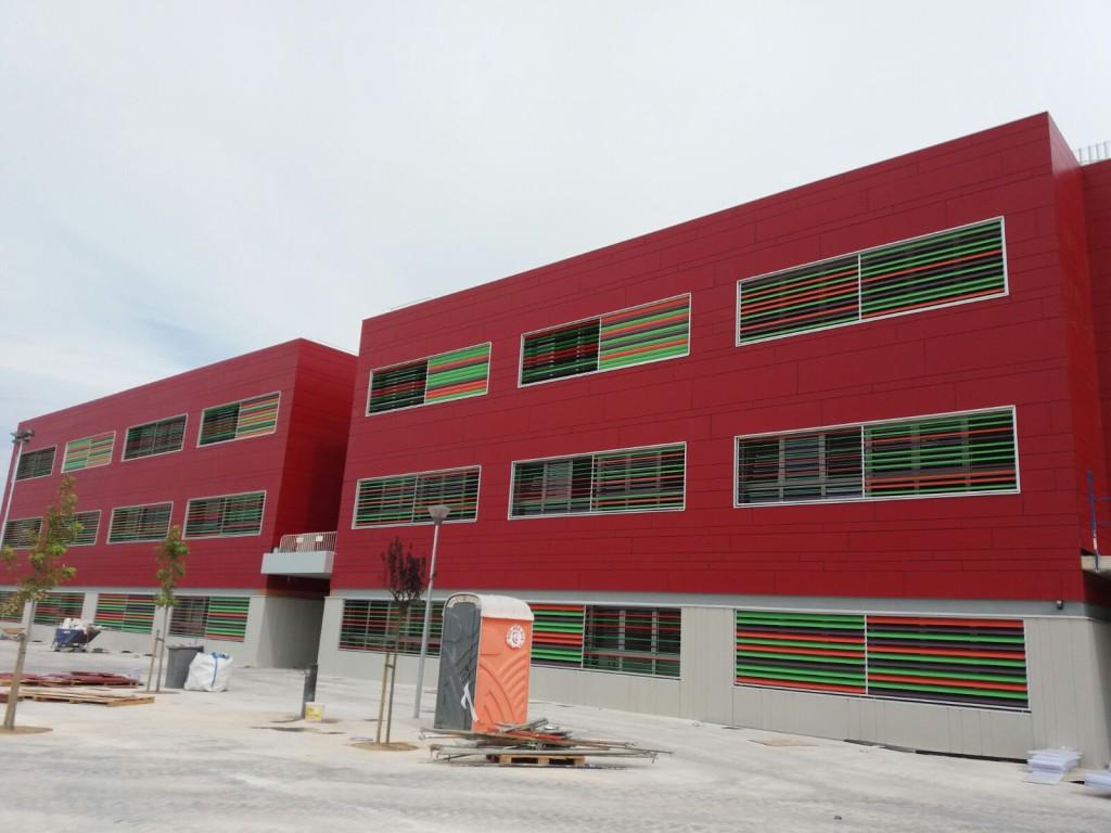 El colegio Zaragoza Sur ya está listo para comenzar la actividad el próximo curso