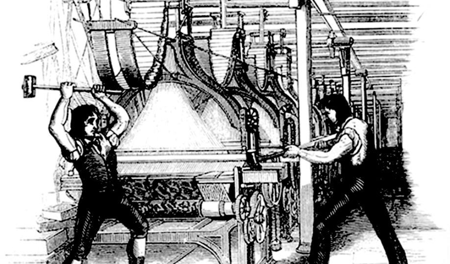 12 historias de Ludditas
