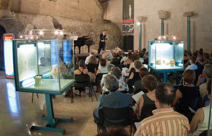 Bach, Mozart y Bocherini visitan musicalmente el Museo del Foro Romano