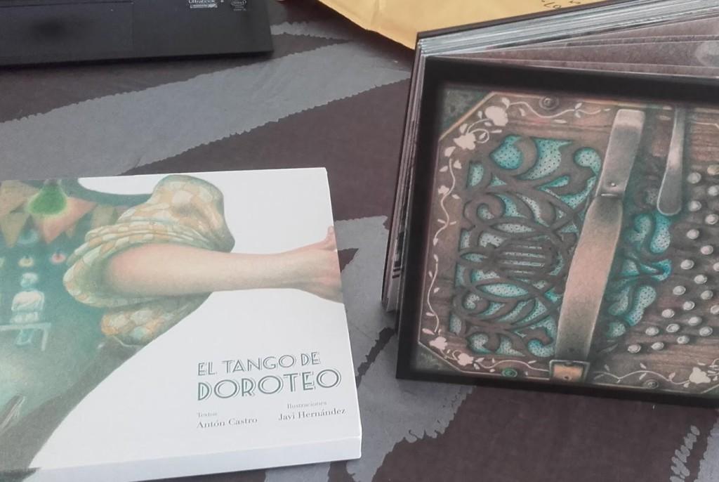 """Exposición de ilustraciones para """"El Tango de Doroteo"""""""