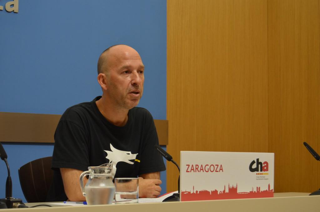 CHA pide que el Ayuntamiento de Zaragoza rechace la deriva autoritaria del Gobierno español