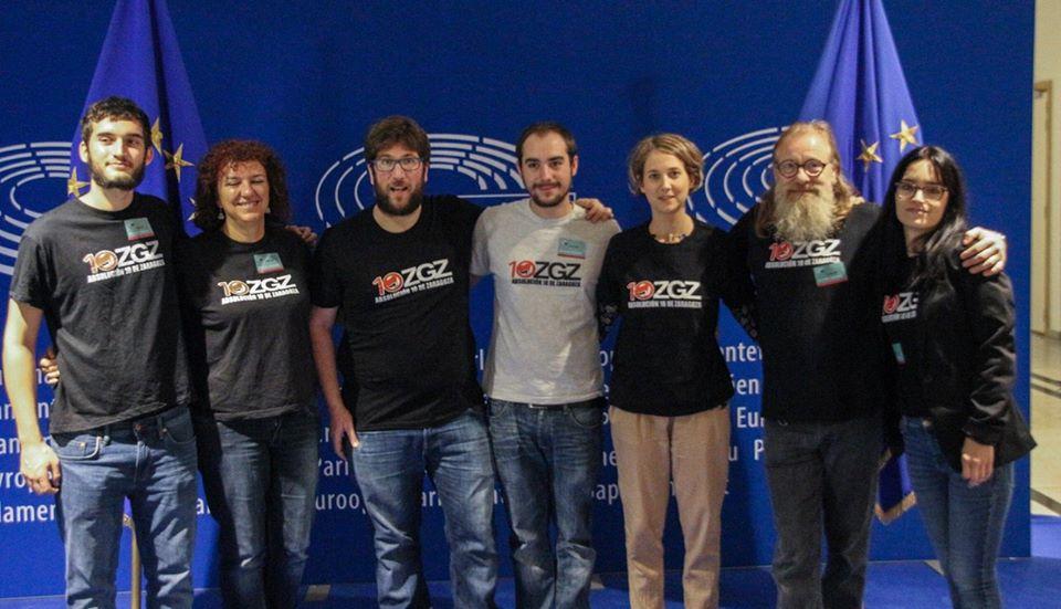 Miguel Urban y Marina Albiol piden la absolución para los 10 de Zaragoza