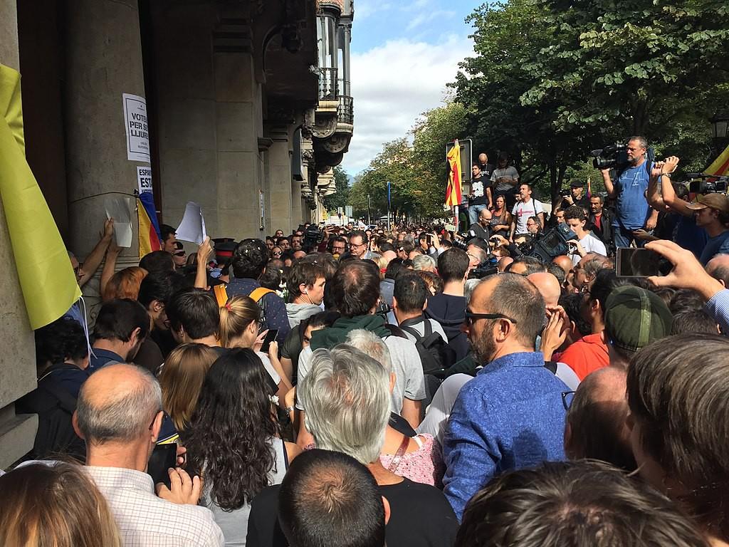 La Audiencia Nacional admite investigar por sedición las concentraciones del 20S en Catalunya