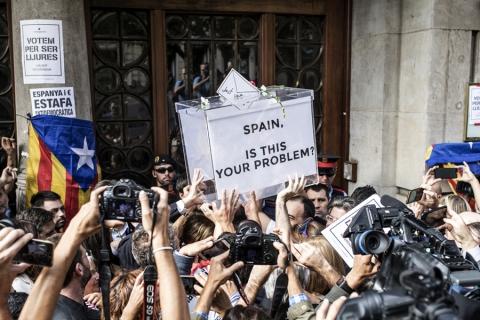 """Expertos de la ONU reclaman al Gobierno español """"respetar los derechos fundamentales"""" de cara al referéndum catalán"""