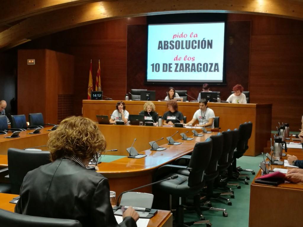 'Los 10 de Zaragoza' solicitan a las Cortes que se actúe de manera firme contra el racismo y la xenofobia
