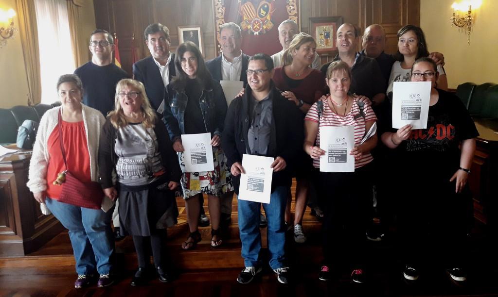 ATADI reivindica la accesibilidad cognitiva en Teruel