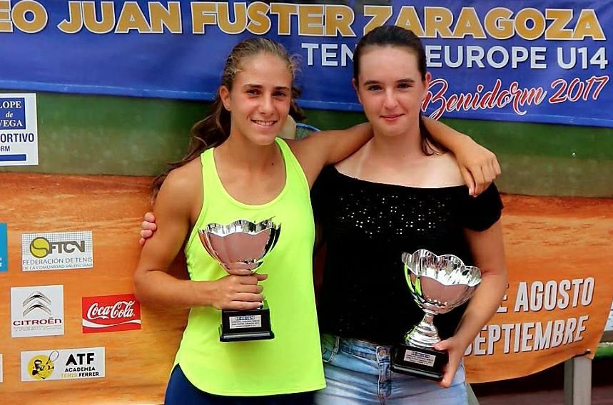 Claudia Borbón gana en Benidorm su primer torneo mundial del Tennis Europe Junior Tour
