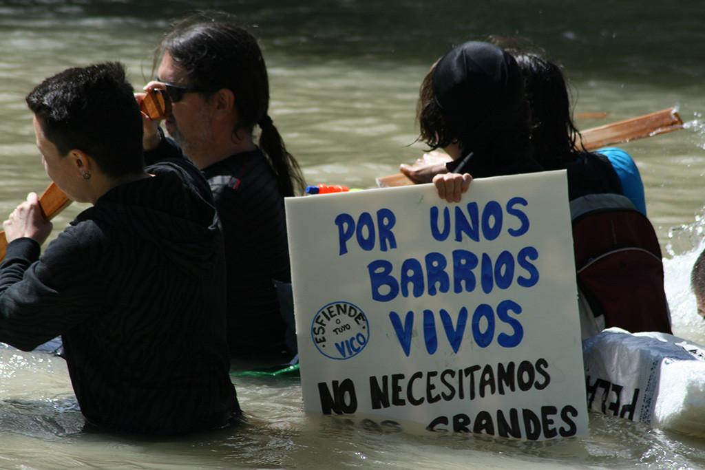 """Asociaciones convocantes de la Bajada del Canal denuncian las """"trabas administrativas"""" impuestas por las administraciones"""