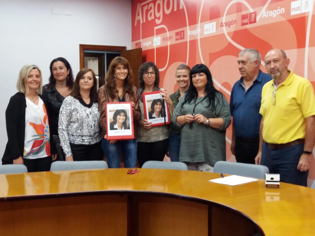 Más de 2.100 avales respaldan la candidatura de Carmen Dueso a la Secretaría General del PSOE Aragón