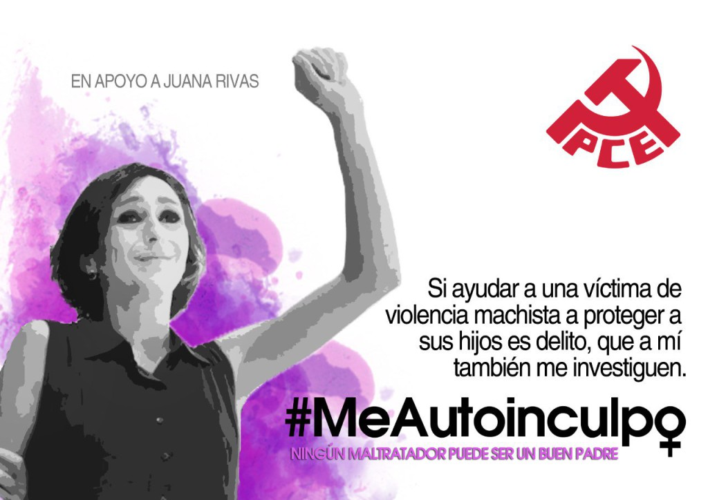 Campaña PCE en apoyo a Juana Rivas