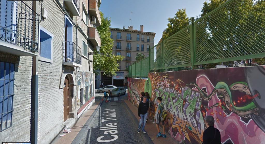 Asociaciones Vecinales piden eliminar del tránsito de vehículos motorizados en la calle Trinidad de Zaragoza