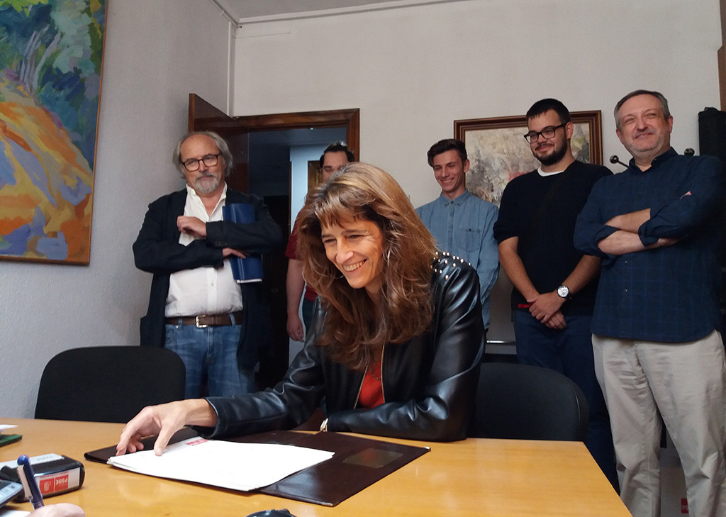 "Carmen Dueso considera ""imprescindible"" volver a unir al PSOE-Aragón"