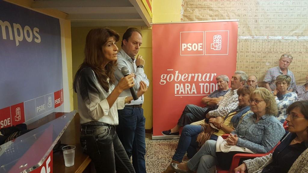 """Carmen Dueso en Calatayud: """"El PSOE tiene que ser el partido de la militancia"""""""