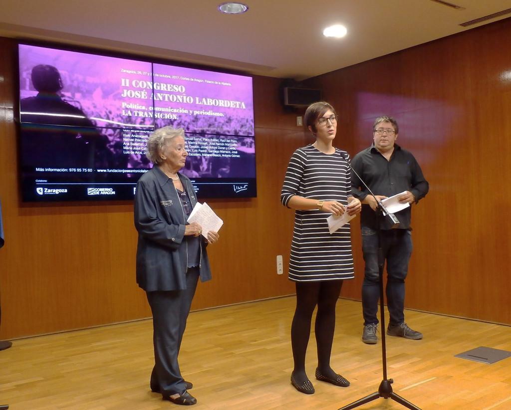 El II Congreso José Antonio Labordeta de Política, Comunicación y Periodismo abordará la transición española