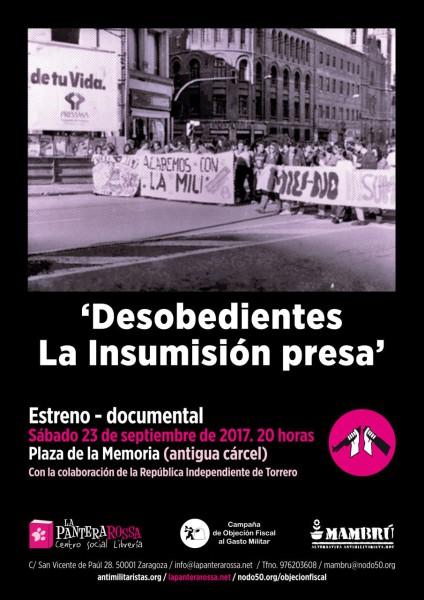 Desobedientes Insumision doc