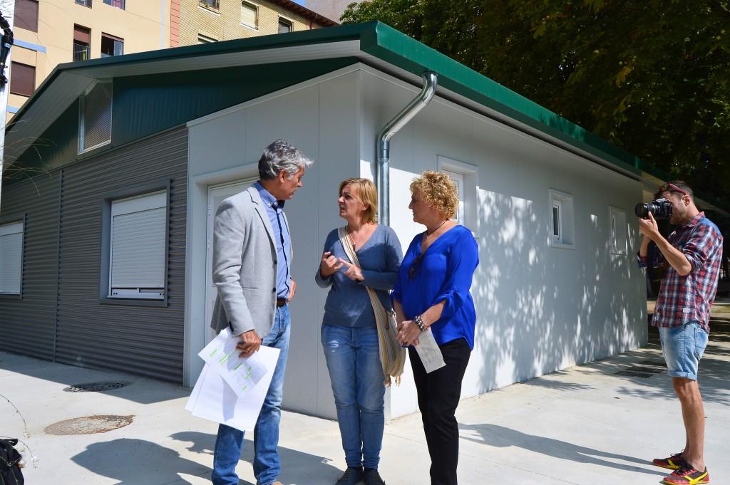 Abierto el plazo de votación para elegir el nombre del Aula Verde del Parque Miguel Servet de Uesca